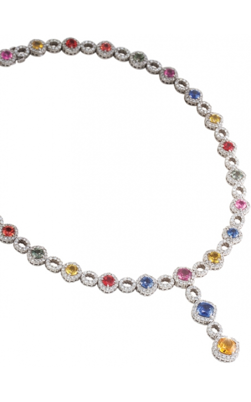 Merry Richards Necklace 2_pg9_MultiSaphNecklace product image