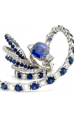 Sapphire And Diamond Bracelet product image
