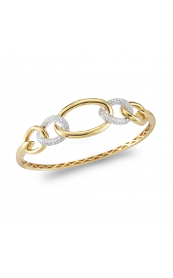 18K Yellow Gold Diamond Bangle product image