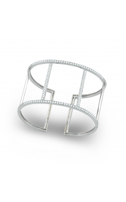 18K White Gold Diamond Cuff Bracelet product image