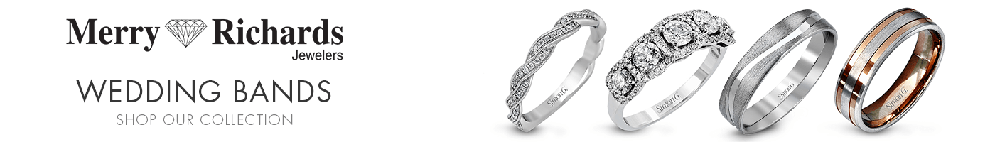 Wedding Bands at Merry Richards Jewelers