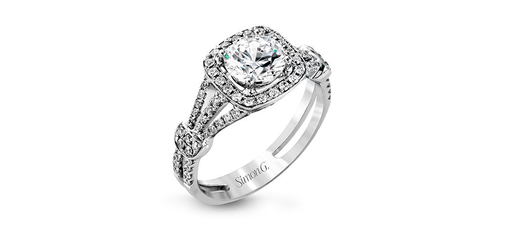 Simon G Passion Engagement Ring