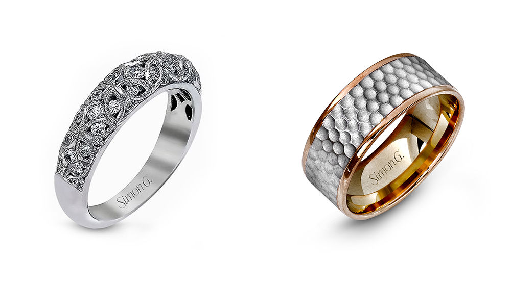 Simon G Wedding Bands for Men and Women