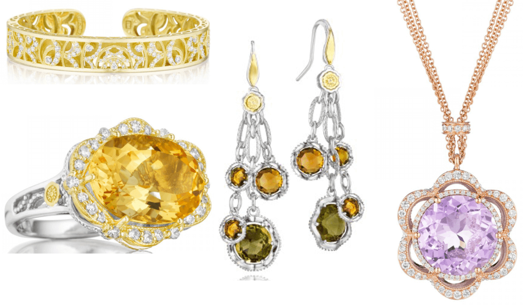 Selections from Tacori's Fashion Jewelry Available at Merry Richards Jewelers